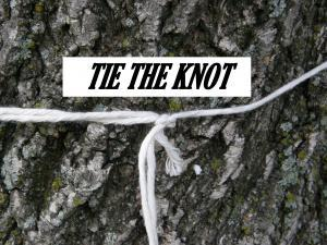 TIE THE KNOT IDIOM