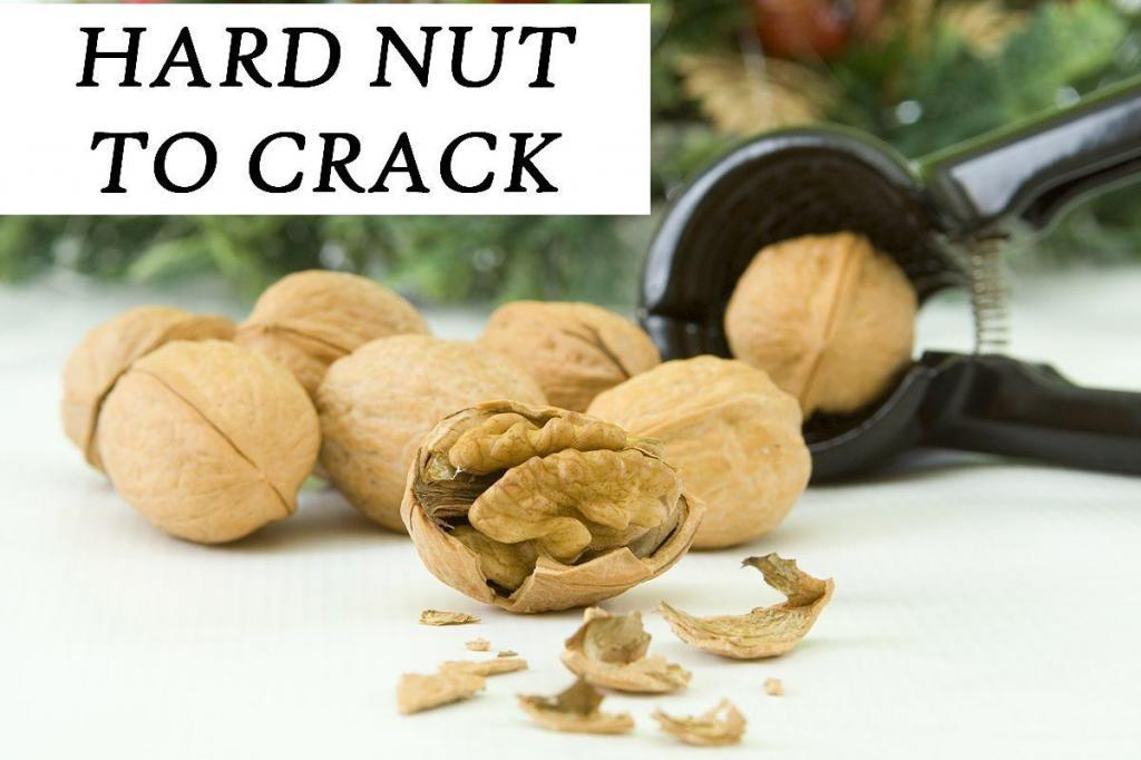 hard nut to crack IDIOM