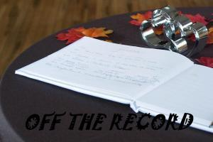 keep something off the record