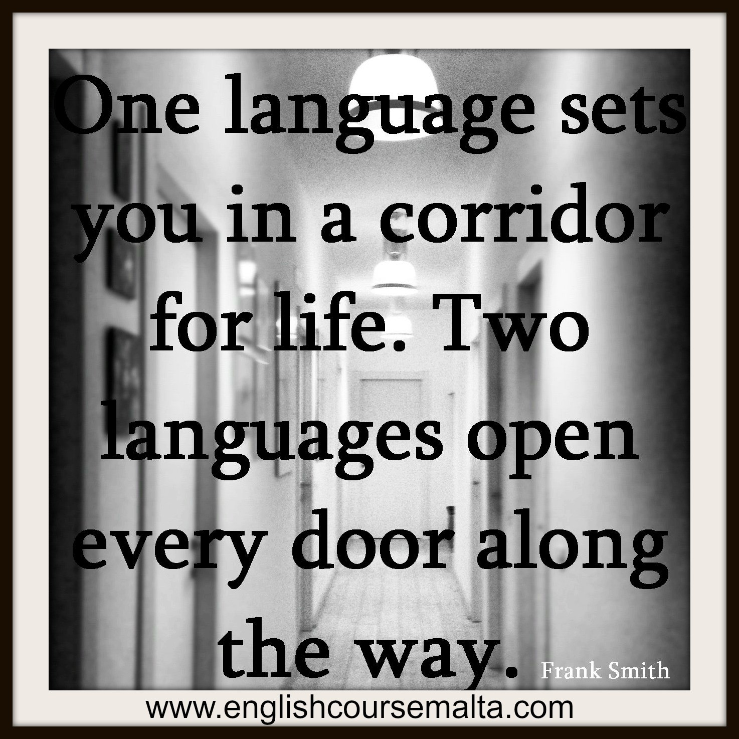 Inspirational Quote Learning English English Course Malta